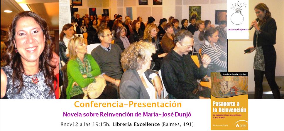 Conferencia-Presentación de «Pasaporte a la Reinvención»